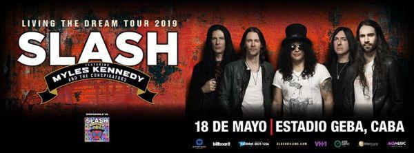 SLASH En GEBA, Buenos Aires @ Estadio Gimnasio y Esgrima (GEBA)