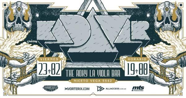 KADAVAR en The Roxy La Viola Bar, Buenos Aires @ The Roxy La Viola Bar | Buenos Aires | Argentina