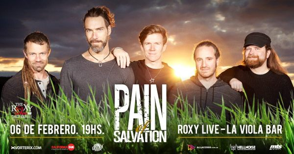 PAIN OF SALVATION en The Roxy Live, Buenos Aires @ The Roxy Live | Buenos Aires | Argentina
