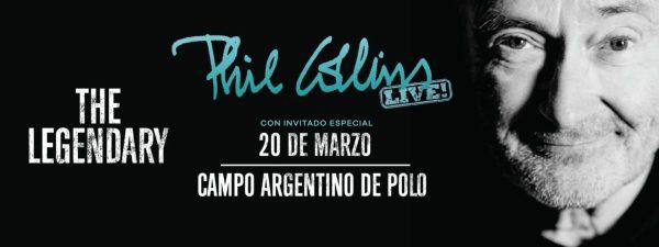 PHIL COLLINS en el Campo Argentino de Polo @ Campo Argentino de Polo | Buenos Aires | Argentina