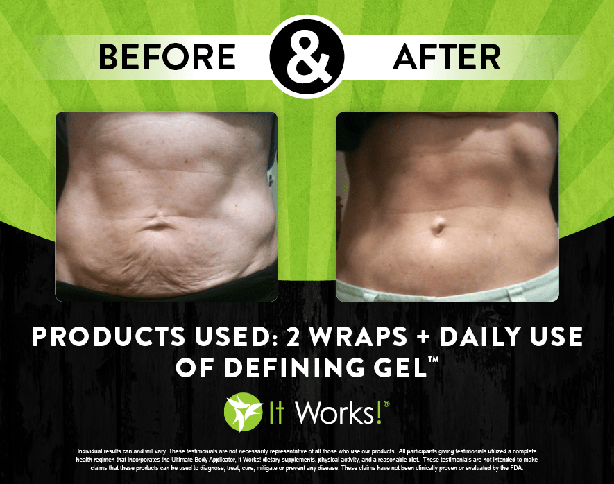 before after wraps rock