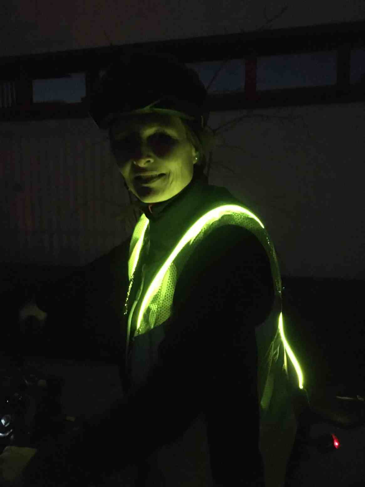 LED-Leuchtweste Hatex