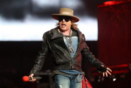SYDNEY, AUSTRALIA - MARCH 12: Axl Rose of Guns N' Roses performs live on stage at Allphones Arena on March 12, 2013 in Sydney, Australia. (Photo by Mark Metcalfe/Getty Images)