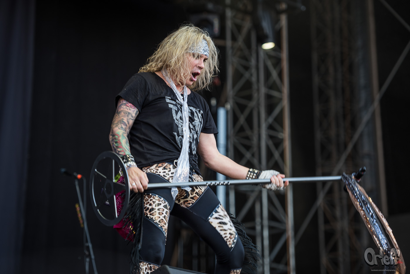 Steel Panther @ Nova Rock, 2017