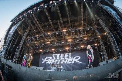 Steel Panther @ Nova Rock, 2017