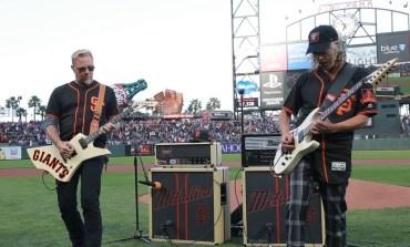 Metallica и San Francisco Giants отбелязаха заедно за пета година  'Metallica Night'
