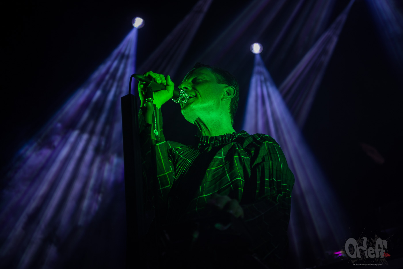 GusGus @ Music Jam, 2019