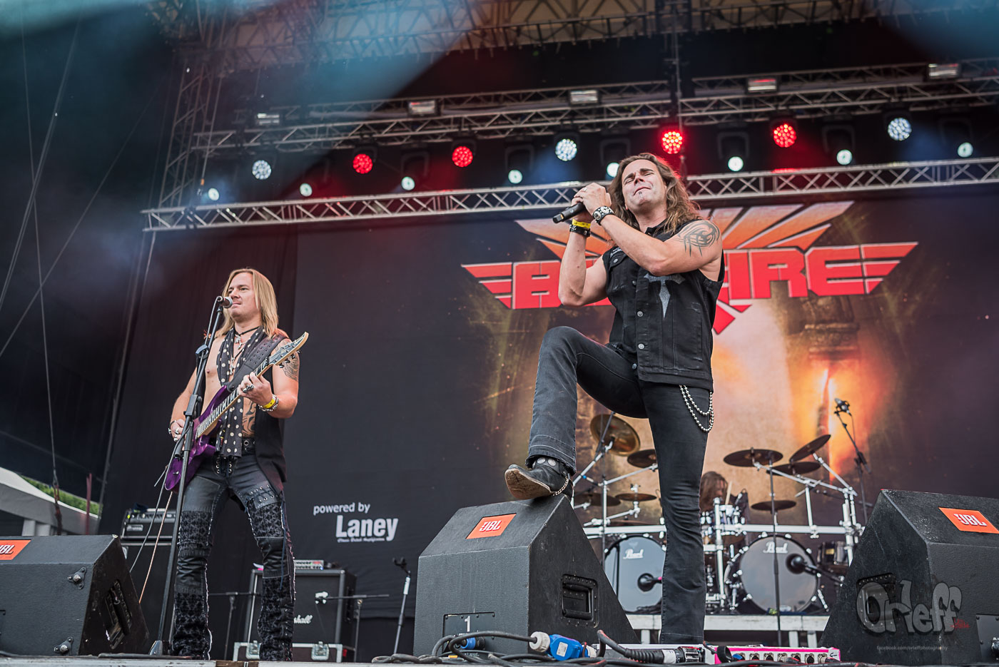 Bonfire @ Hills Of Rock, 2019
