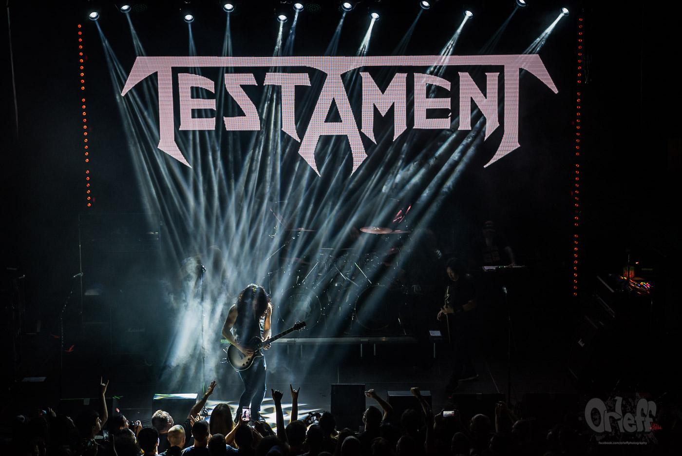 Testament @ Music Jam, 2019