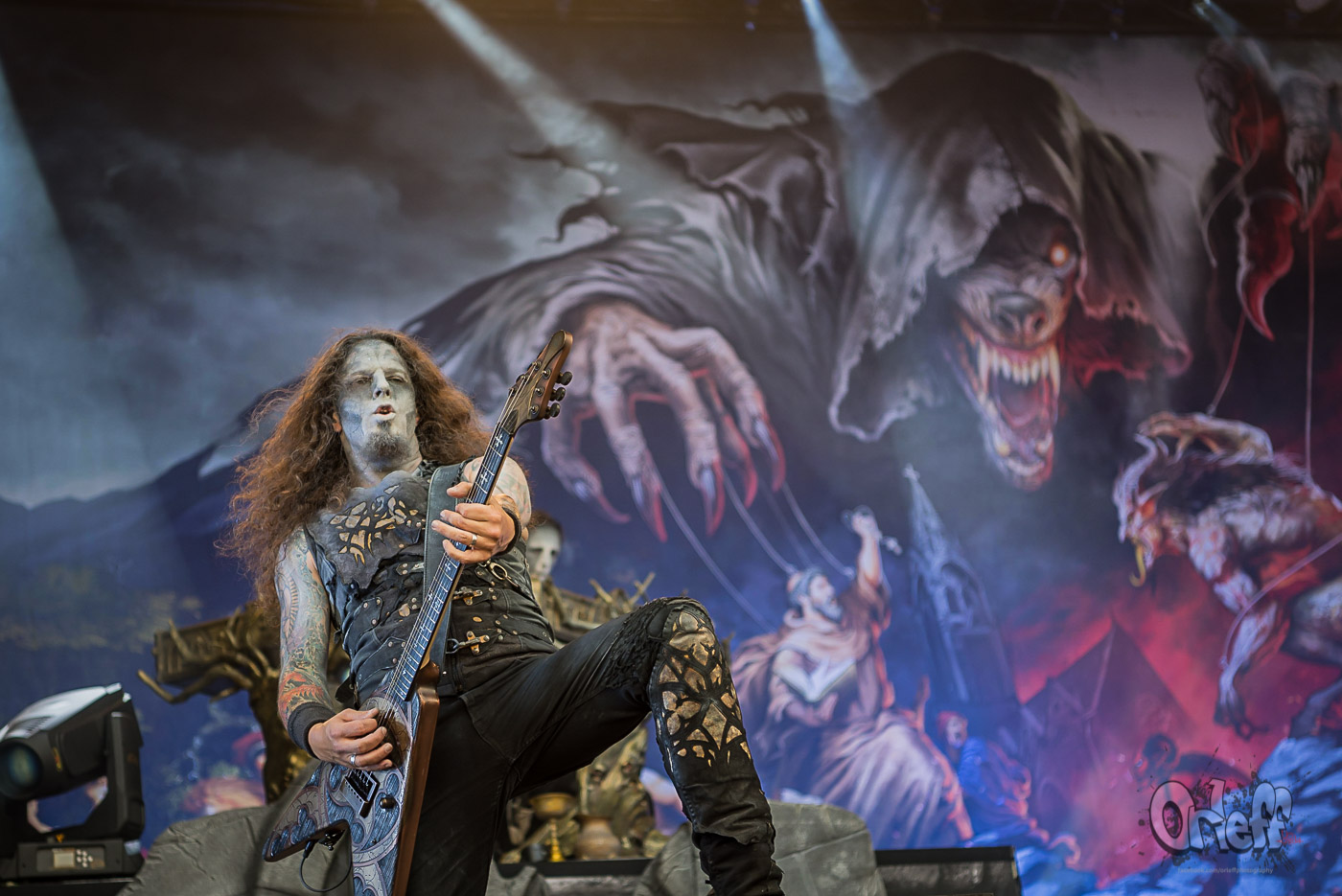 Powerwolf @ Nova Rock 2019