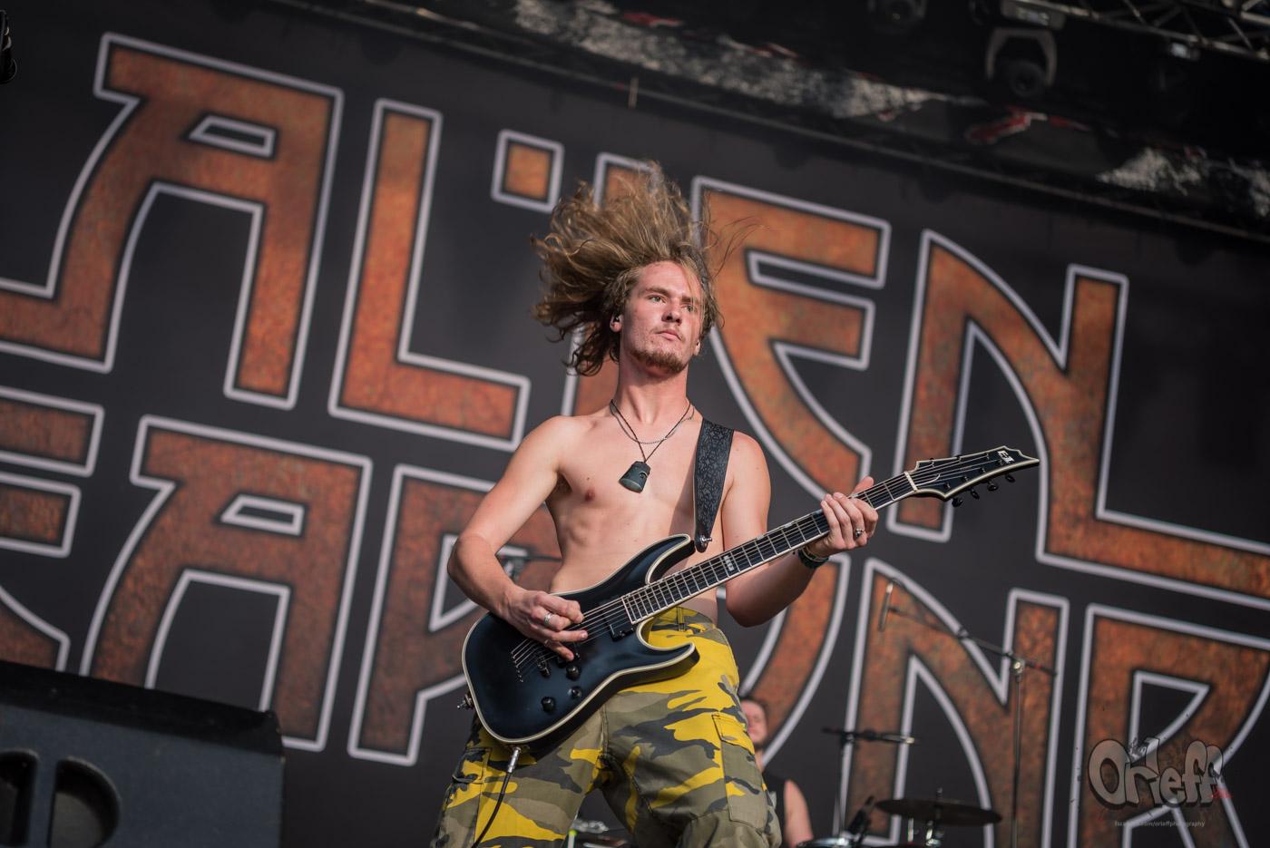Alien Weaponry @ MetalDays Festival 2019