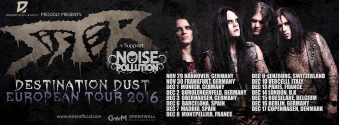 Swedish Metal band SISTER