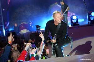 James Hetfield - Photo by Tom Collins