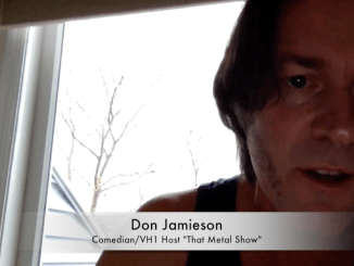 Don Jamieson talks about his new Comedy CD 'Communication Breakdown'