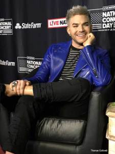 Adam Lambert - Photo by Tom Collins