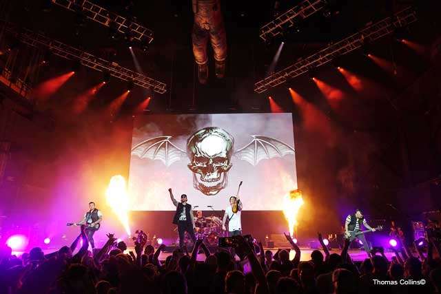 Avenged Sevenfold - Photo by Tom Collins