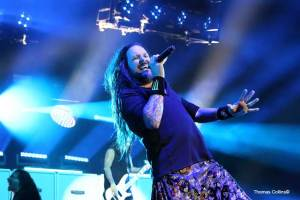 Jonathan Davis of Korn - Photo by Tom Collins