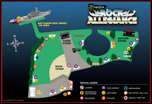 Site Map Rock Allegiance