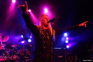 Biff Byford Saxon - Photo by Tom Collins
