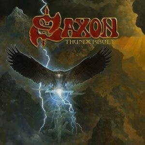 Saxon new album Thunderbolt