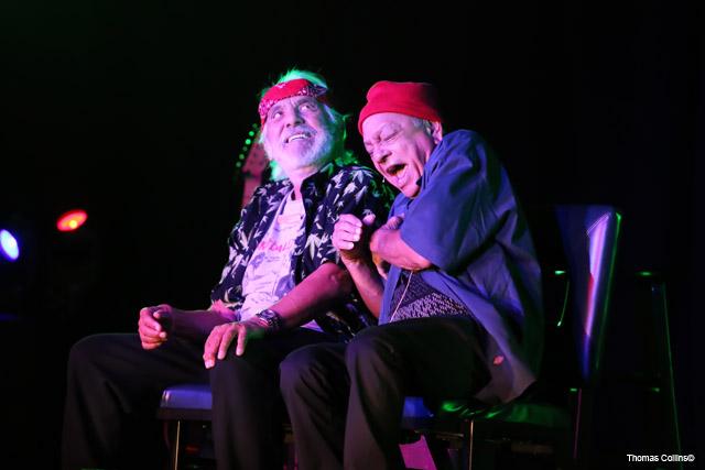 Cheech & Chong - Photo by Tom Collins