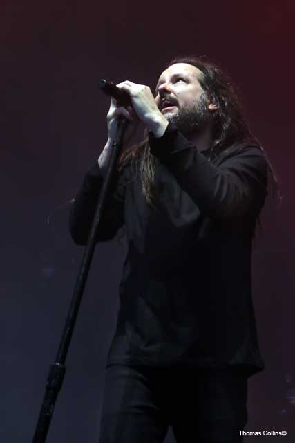 Jonathan Davis of Korn - Photo by Tom Collins