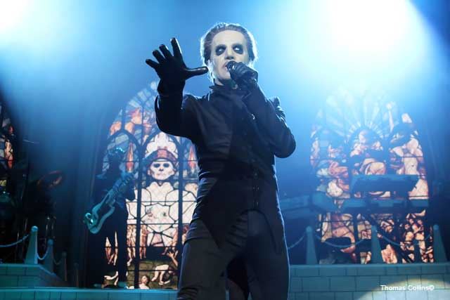 Ghost Papa Emeritus Tobias Forge - Photo by Tom Collins