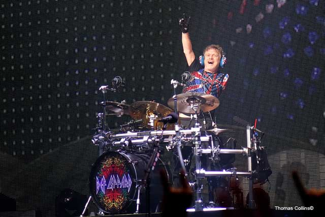Rick Allen - Photo by Tom Collins - Rock Titan TV