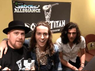 Rock Titan TV's Scotty J with Greta Van Fleet