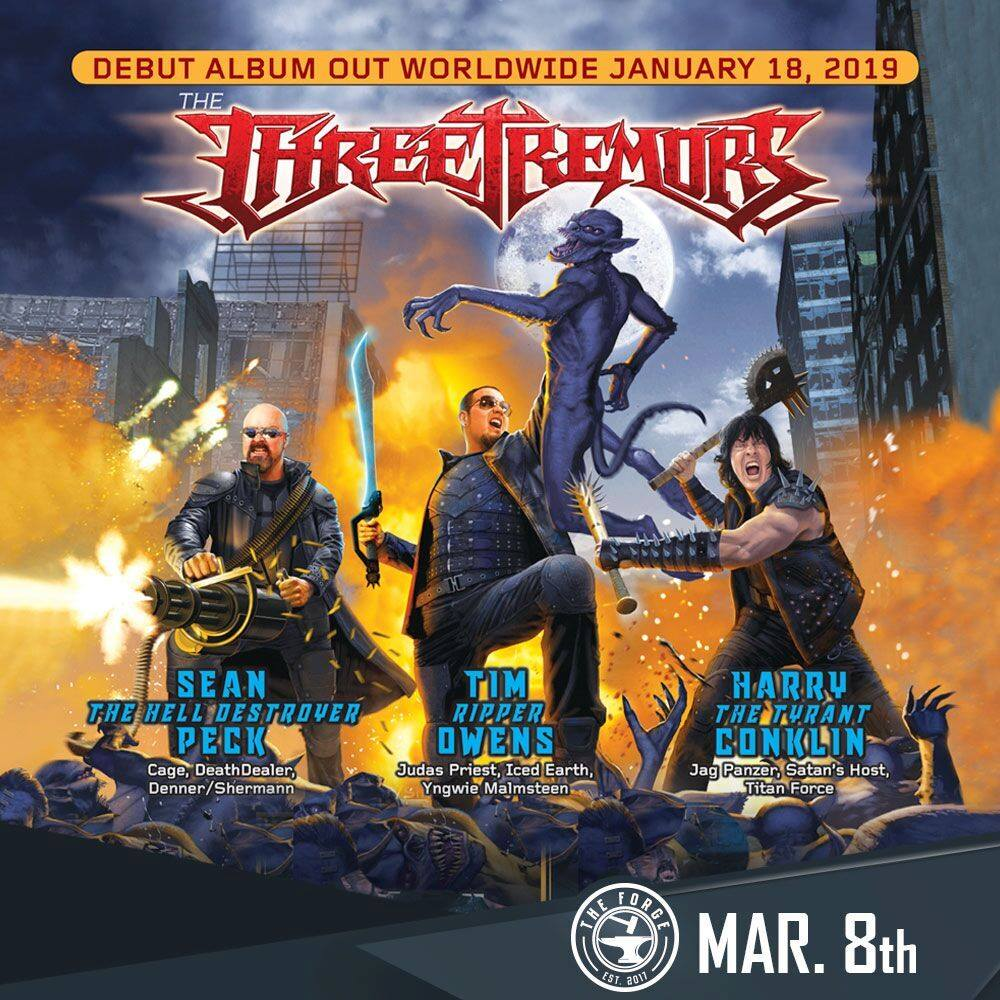 The Three Tremors debut album releases Jan 18 with 2019 tour!