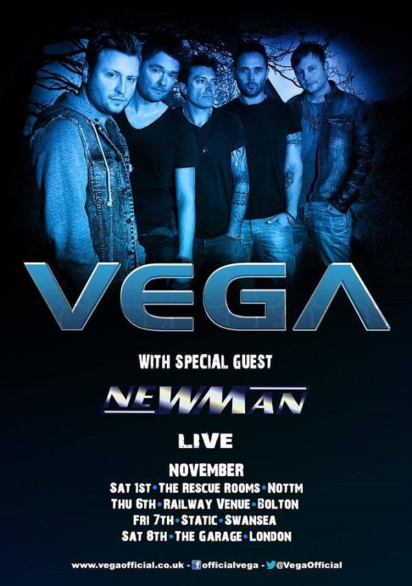 VEGA UK Tour 2
