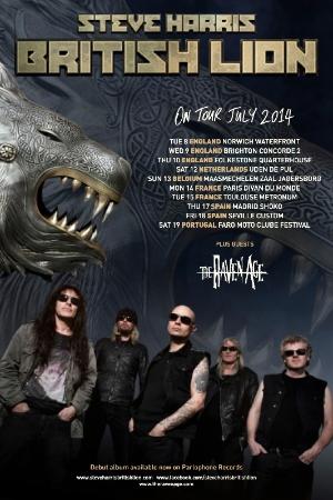 Steve Harris Tour Poster