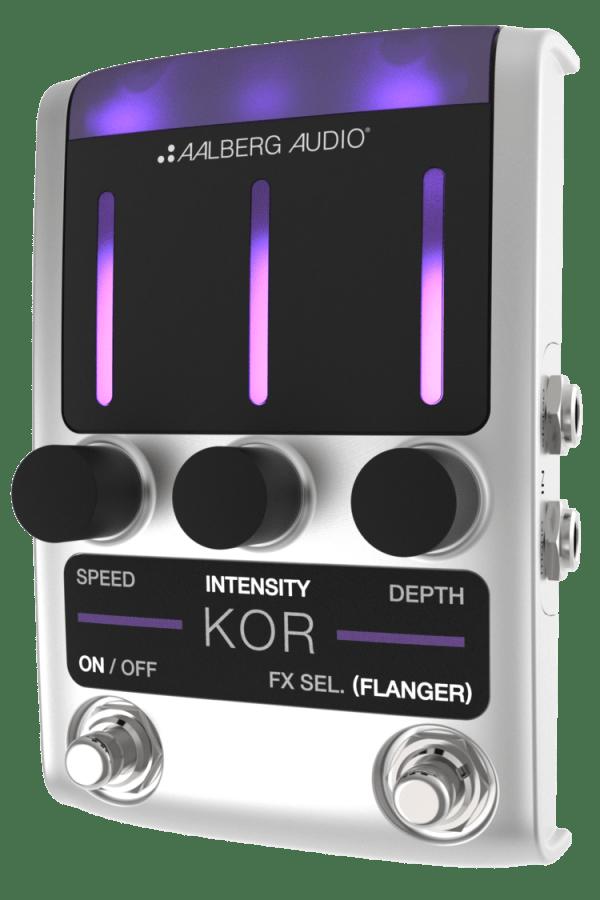 NEW Aalberg Audio (KO-1) KOR Chorus/Flanger Pedal