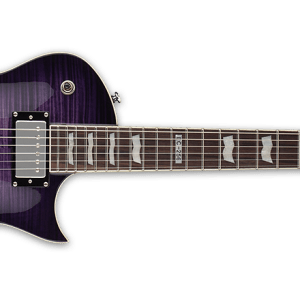 NEW ESP LTD EC-256FM See Thru Purple Sunburst Electric Guitar