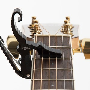 NEW Kyser (KG3BA) Black Short Cut Capo