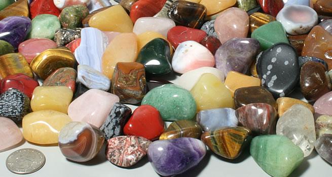 Tumbled Stone Mixtures The economical way to buy stones