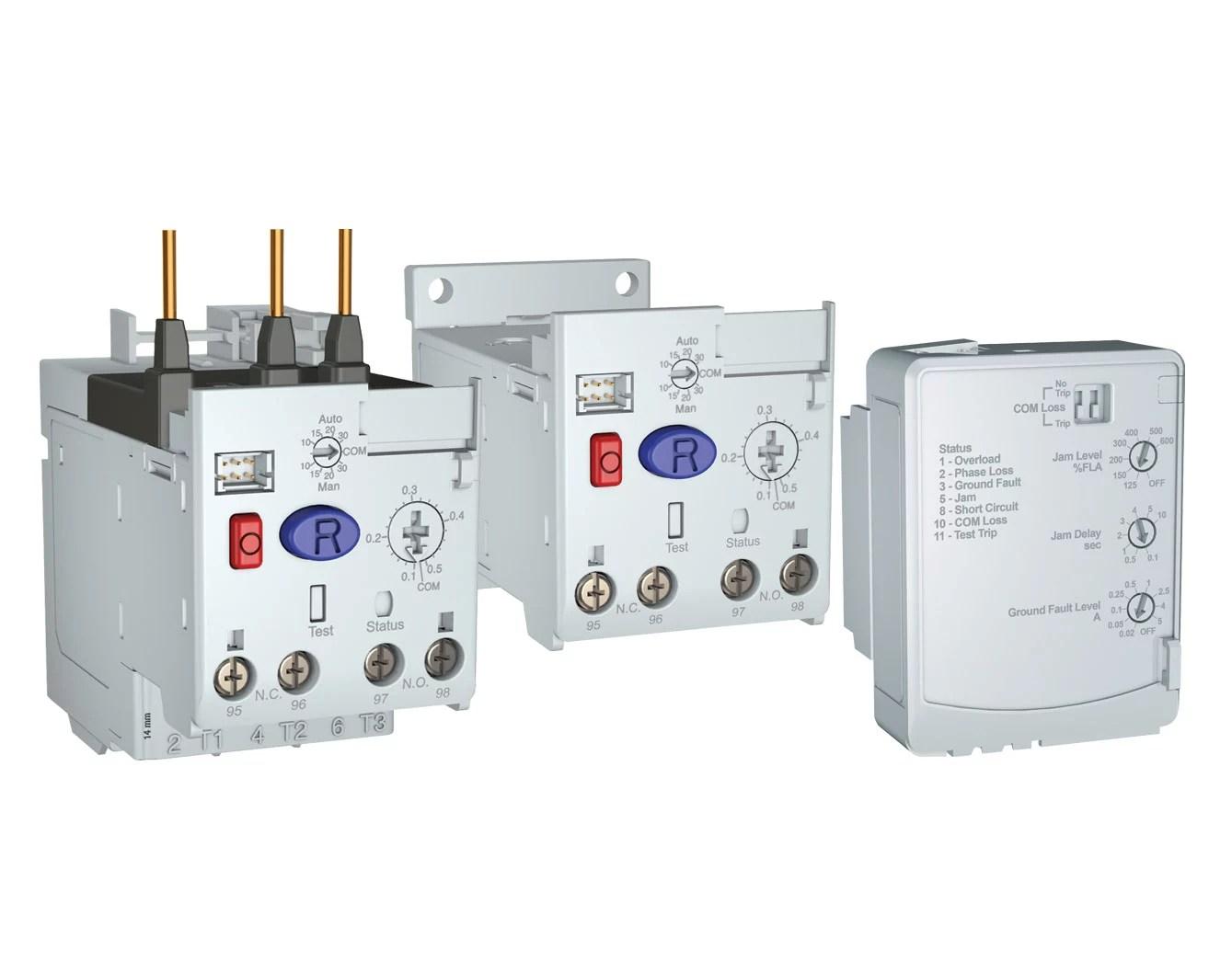 新型電子式過載繼電器有助於防止馬達損壞及停機 | Rockwell Automation