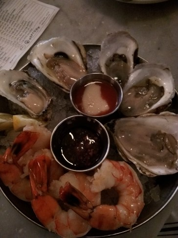 Oysters and Shrimp at Neptune Oyster