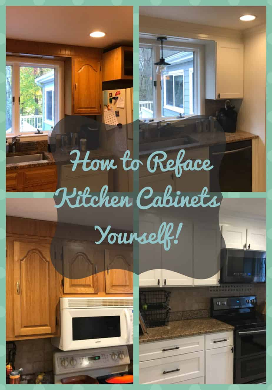 DIY Kitchen Cabinet Refacing » Rocky Canyon Rustic
