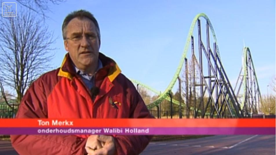 Merkx in de uitzending van Omroep Flevoland