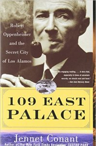 book cover of 109 East Palace