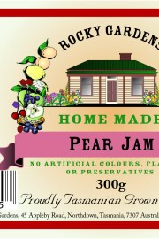 Pear Jam Nutritional Information