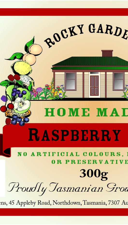 Raspberry Jam Nutritional Information