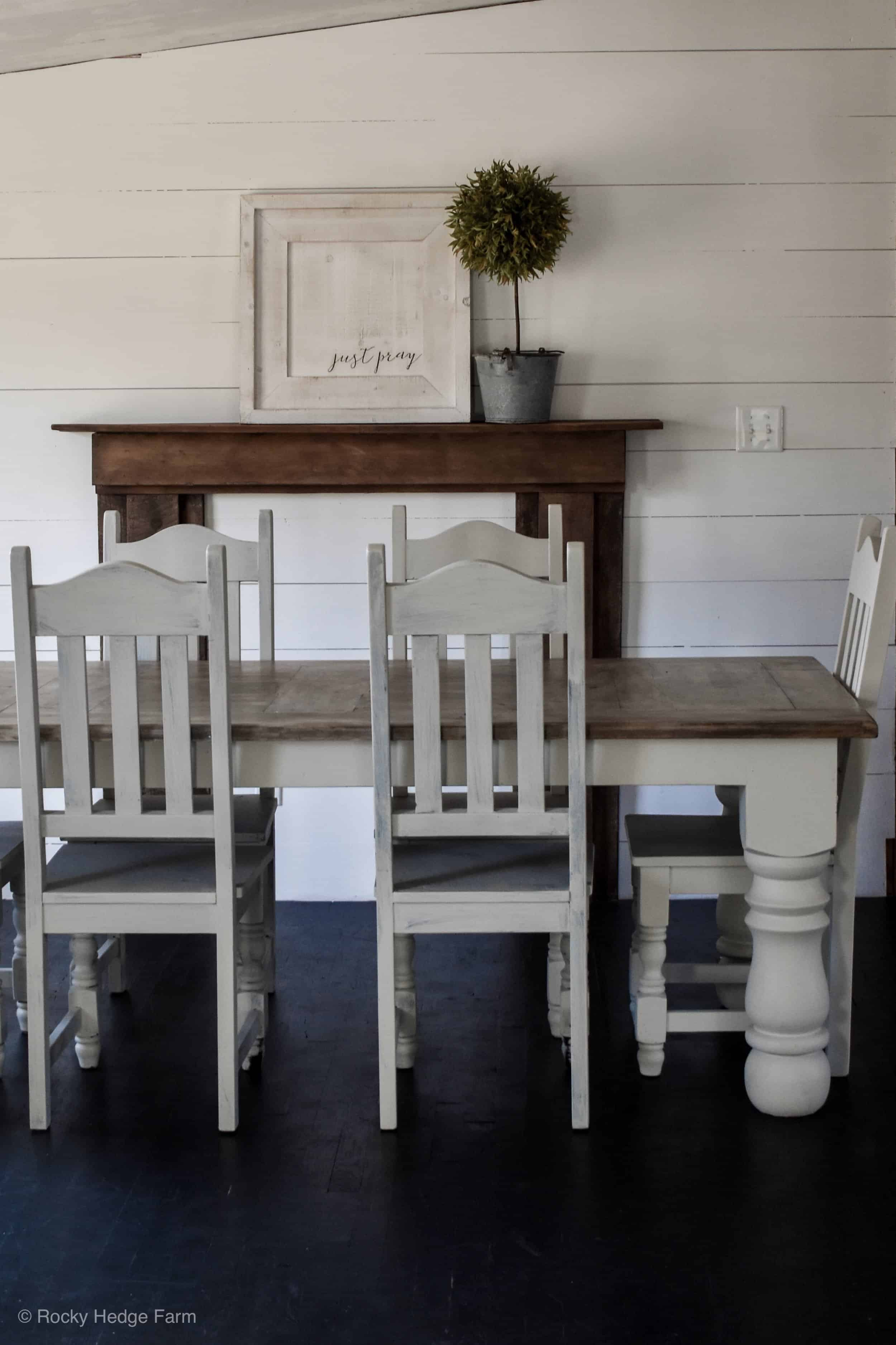 Double Wide Farmhouse Style Dining Room Remodel Rocky