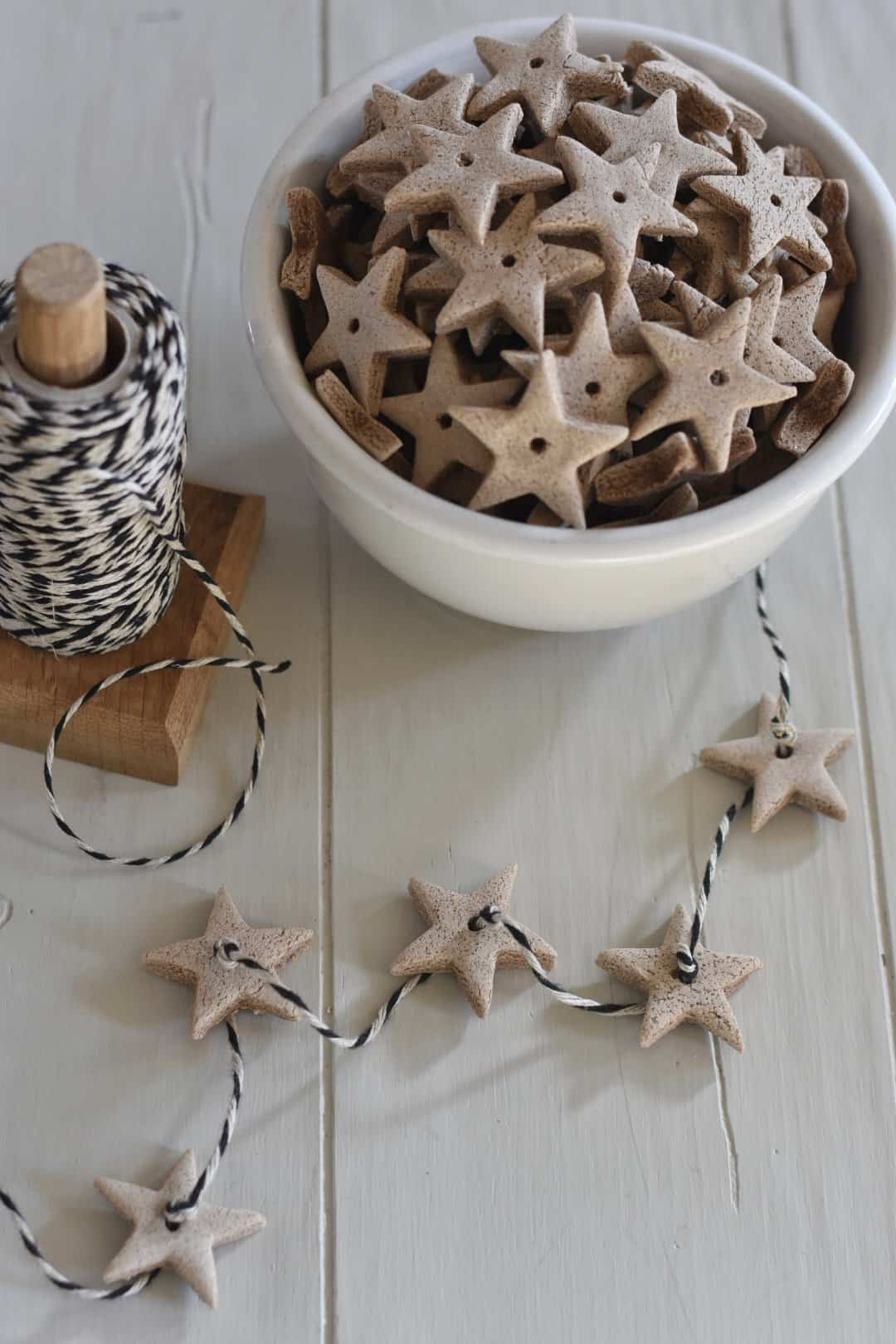 Flour Christmas Ornaments Recipe