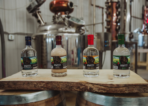 Rocky Mountain Big Horn Distillery products
