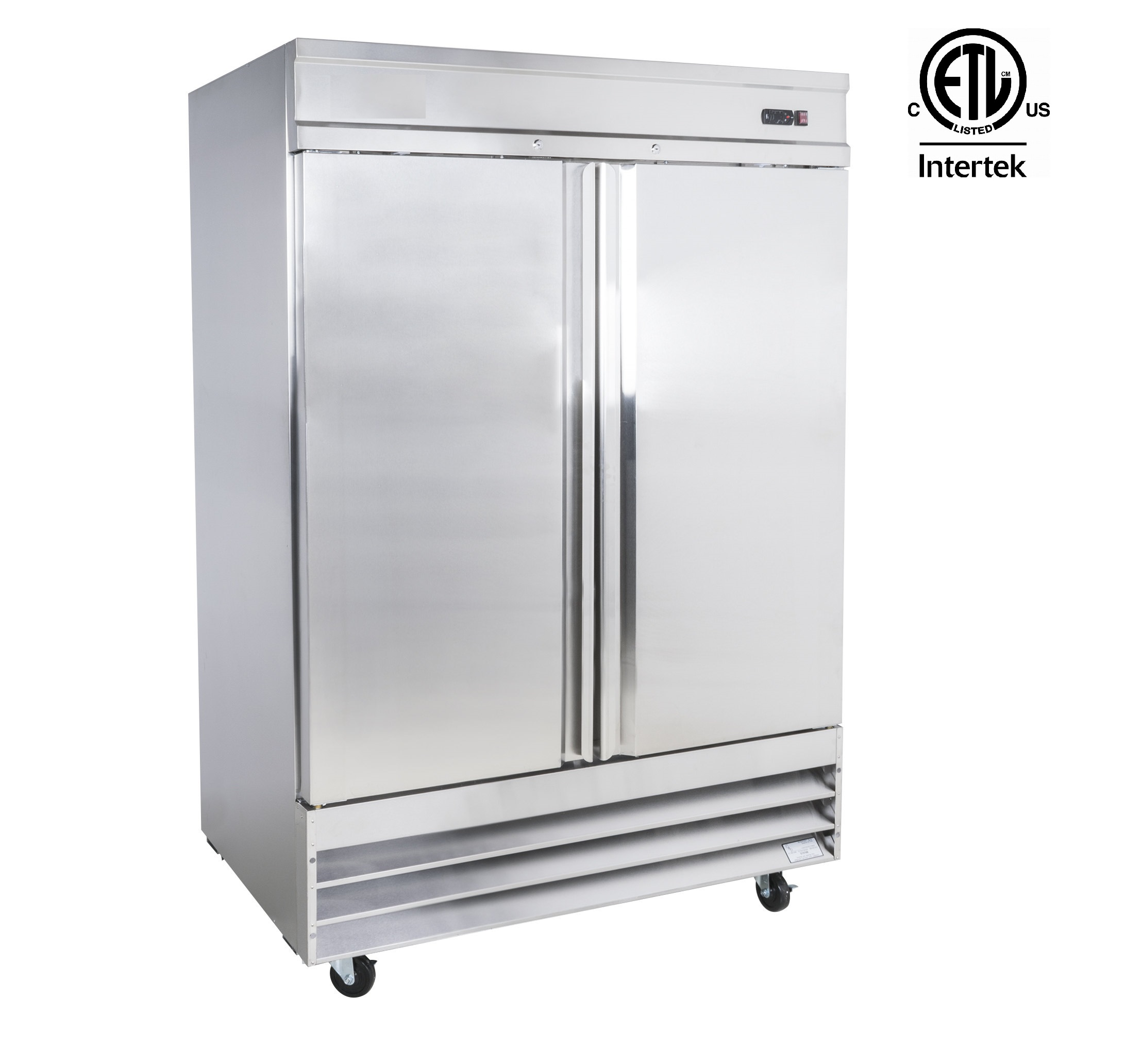 Le Meilleur Stainless Steel Commercial 2 Door Fridge Cfd2Rr Uncle Ce Mois Ci