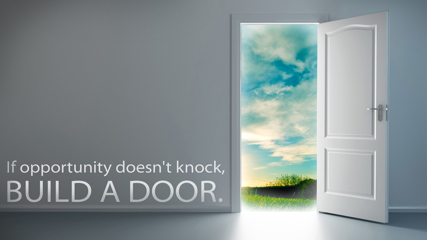 Le Meilleur Quote If Opportunity Doesn T Knock Build A Door Dawn Ce Mois Ci