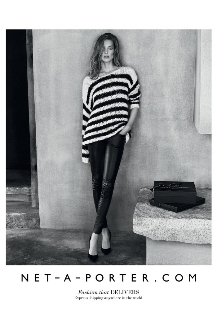 Le Meilleur Net A Porter Fall 2015 Campaign With Daria Werbowy Ce Mois Ci