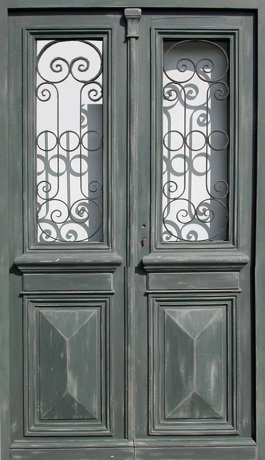Le Meilleur Double Leaf Glazed Entrance Door Willforged Iron Front Ce Mois Ci